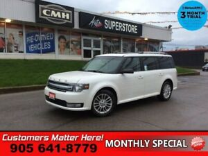 2014 Ford Flex SEL  AWD NAV LEATH ROOF CAM PWR-GATE 8W-SEAT HTD-