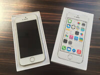 White/Silver iPhone 5s (EE)