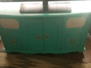 Refinished converted record player