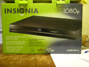 Insignia Blue Ray DVD Player