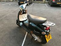 Vespa ET4 125cc 1 year MOT new tyres and battery