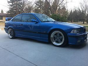 1996 BMW M3 estoril blue