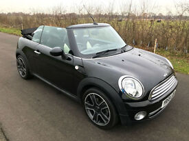 2009 59 MINI COOPER BLACK CHILI PACK + UPGRADES1 FORMER LADY OWNER