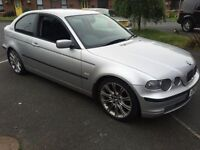 Bmw 320d td SE diesel compact almost full mot may px