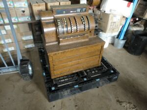 ** Antique National Cash Register...Movie Prop..Store Display **