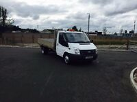 "FORD TRANSIT T350 100PSi LWB DROPSIDE 3.5t TWIN REAR AXLE 2008 ""58"" REG 57,000 MILES 1 OWNER FS"