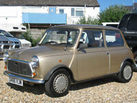 1986 AUSTIN MINI PICCADILLY SPECIAL EDITION - ONLY 12000 MILES FROM NEW !!!