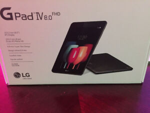 SEALED LG G Pad IV 8.0 FHD Brand new in box, Sealed (Latest New
