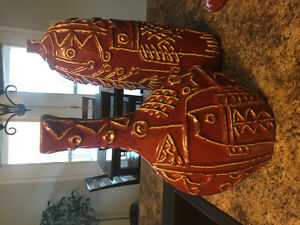 Modern decor, set of three matching ceramic vases Peterborough Peterborough Area image 2