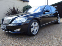 MERCEDES BENZ S500 5.5 ( 382hp ) 7G-TRONIC LIMO ONLY 42K FSH 1 OWNER