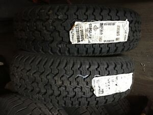 4 GoodYear Wrangler All Season Tires