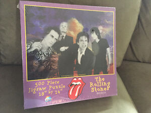 Rolling Stones Jigsaw Puzzle Mint in box