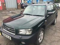 2004 SUBARU FORESTER 2.0 AUTOMATIC..12 MONTHS MOT..LOW MILES..LOOKS+DRIVES GOOD