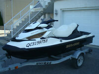 2011 SEA-DOO\BRP GTX LTD 260 IS,REMORQUE REMEQ, *PAS DE TAXE*