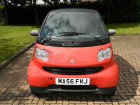 "2006 56 REG SMART 0.7 ( 61bhp ) FORTWO PURE SEMI-AUTO ""SOLD AS SPARES/REPAIRS"""