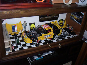 Diie cast, 1/18,1/10,courses ,vette, F1, pony cars,Rossi,cadres