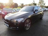 2012 BMW 1 Series 2.0 118d Sport 5dr