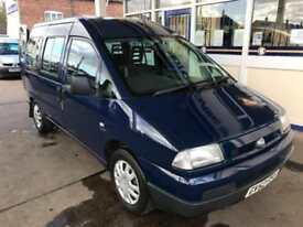 2002 Fiat Scudo Combi 2.0 16V JTD 5 SEATS WHEELCHAIR ACCESSIBLE VEHICLE 5 doo...
