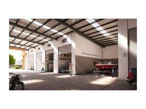 Brand New North Gold Coast Warehouse Storage 126SQM Front Facing Arundel Gold Coast City Preview