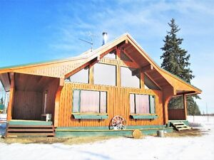 3 Level Custom Built House on 160 acreage minutes from town!