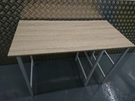 Light Brown Wooden Desk