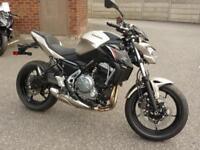 Kawasaki Z650 Metallic Flat Raw Titanium Brand Nw Pre Registered