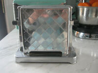 Antique Chrome Toastess Art Deco Toaster Model 202