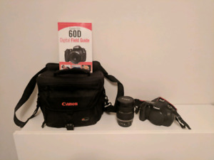 Canon 60D and accessories