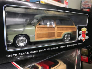 ford woody wagon 1949 dicast 1/18 die cast