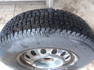 Power King Plus P185/75R14 like new $20