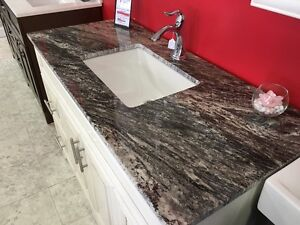 "48"" Vanity -VICTORIA SERIES - Quartz Countertop - Solid Wood London Ontario image 2"