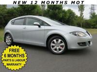 SEAT LEON 1.6 STYLANCE *** FULL BLACK LEATHER / HUGE SPEC & LOW MILES ***