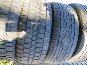 4 P275/55R20 USED TIRES 2755520