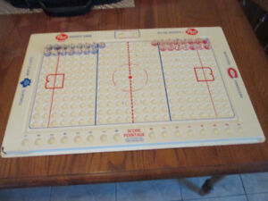 1968 Post Cereal NHL Hockey Rink W/ Team Marbles!