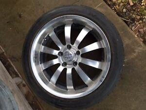Tires and Rims 17 inch Regina Regina Area image 2