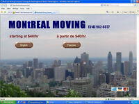 www.MONTREAL-MOVING.com (514) 962-6577 Visa, MC, Amex