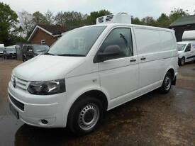 2011 VOLKSWAGEN TRANSPORTER T28 2.0 TDI 140 SWB REFRIGERATED VAN WITH OVERNIGHT