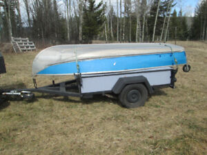 12' aluminum boat and trailer.Will sell seperately
