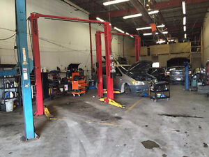 auto mechanic garage and body shop for sale