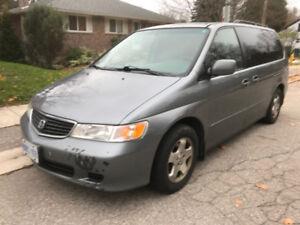 2000 Honda Odyssey - Certifed