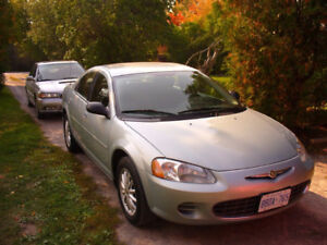 Chrysler Sebring 2001-2006 Mirrors Lights and Wheels