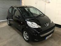2009 Peugeot 107 Verve 1 Lady Owner £0 Road Tax + 60Mpg + Ideal First Car + 3 Month Warranty +
