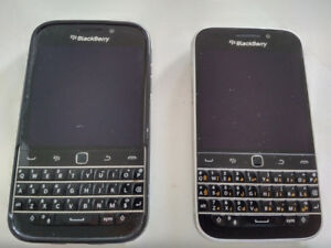 Two unlocked Blackberry Classic for trade