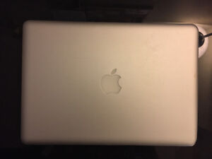 MacBook Pro 13 inch with SSD and charger - mid 2012