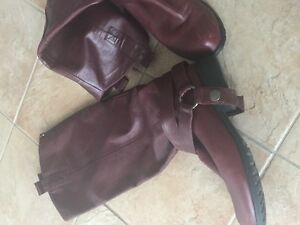 Rudsak Boots 6.5 Wine color