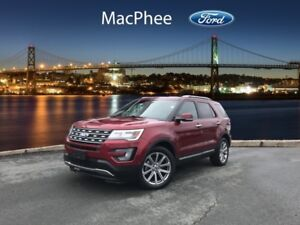 2017 Ford Explorer Limited  - Certified - Navigation