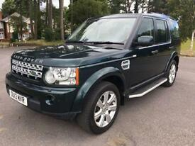2013 13 LAND ROVER DISCOVERY 3.0 4 SDV6 HSE 5D AUTO 255 BHP DIESEL