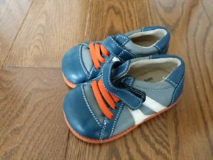 Size 5 Leather baby boy toddler shoes
