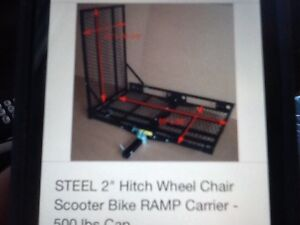 Scooter or wheelchair carier