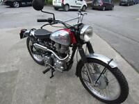 ROYAL ENFIELD 350cc TRIALS BIKE REG 2005 BUT ON A 1963 PLATE..